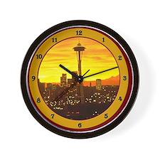 Cute Seattle Wall Clock