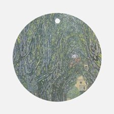 Avenue of Trees Ornament (Round)