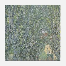 Avenue of Trees Tile Coaster