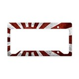Japan earthquake relief License Plate Frames