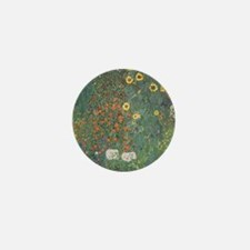 Country Garden with Sunflower Mini Button (100 pac