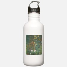Country Garden with Sunflower Water Bottle