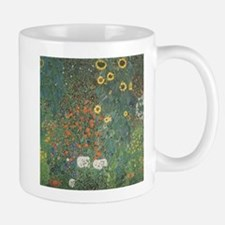 Country Garden with Sunflower Mug