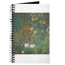 Country Garden with Sunflower Journal