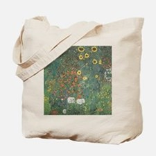 Country Garden with Sunflower Tote Bag