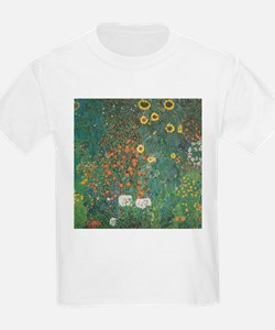 Country Garden with Sunflower T-Shirt