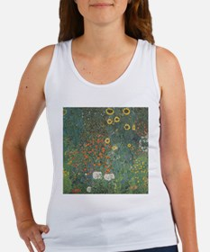 Country Garden with Sunflower Women's Tank Top