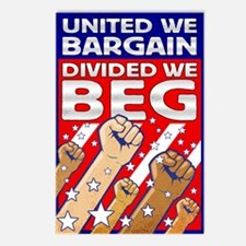 United We Bargain, Divided We Postcards (Package o