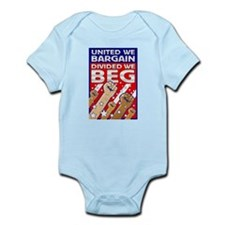 United We Bargain, Divided We Infant Bodysuit