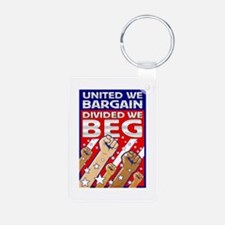 United We Bargain, Divided We Keychains