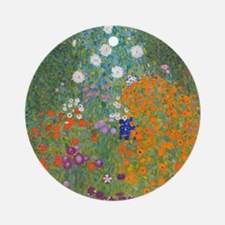 Flower Garden Ornament (Round)