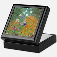 Flower Garden Keepsake Box