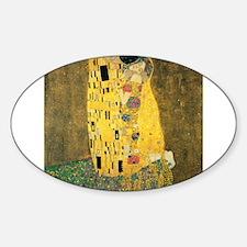 The Kiss Sticker (Oval)