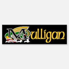 Mulligan Celtic Dragon Bumper Bumper Bumper Sticker