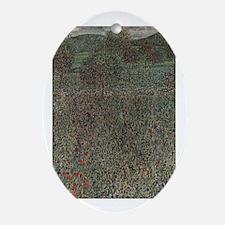 Bloom Field Ornament (Oval)