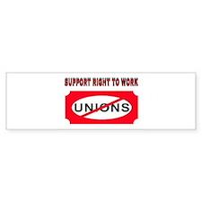 GIVE US A CHOICE Bumper Sticker