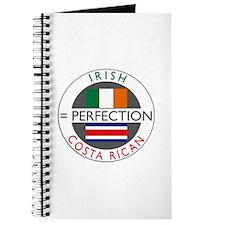 Irish Costa Rican flags Journal