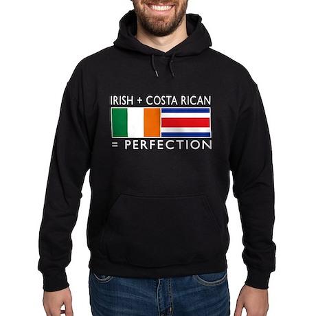 Irish Costa Rican flags Hoodie (dark)