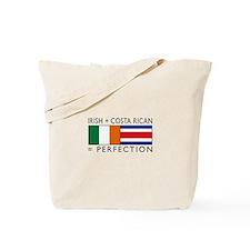 Irish Costa Rican flags Tote Bag