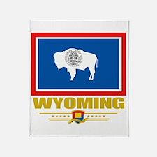 Wyoming Pride Throw Blanket