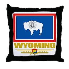 Wyoming Pride Throw Pillow