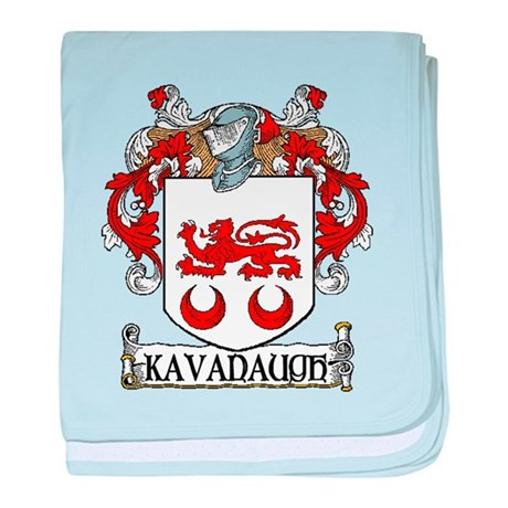Kavanaugh Coat of Arms baby blanket