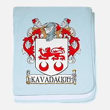 Kavanaugh Coat of Arms baby blanket