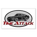 Time Attack Sticker (Rectangle)
