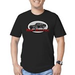 Time Attack Men's Fitted T-Shirt (dark)