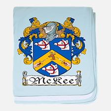 McKee Coat of Arms baby blanket