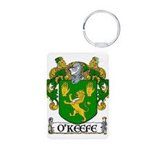 O'Keefe Coat of Arms Aluminum Photo Keychain