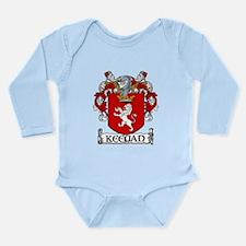 Keegan Coat of Arms Long Sleeve Infant Bodysuit