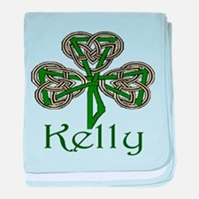Kelly Shamrock baby blanket