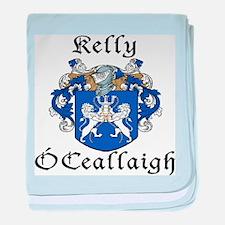Kelly In Irish & English baby blanket