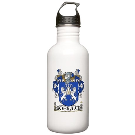 Kelly Coat of Arms Stainless Water Bottle 1.0L