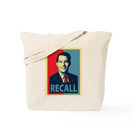 Scott Walker Recall Tote Bag