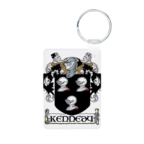 Kennedy Coat of Arms Aluminum Photo Keychain