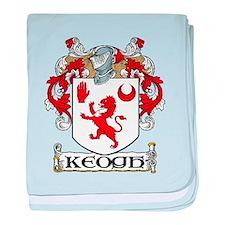 Keogh Coat of Arms baby blanket