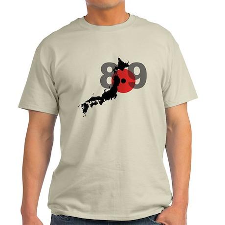 Japan Earthquake & Tsunami Light T-Shirt