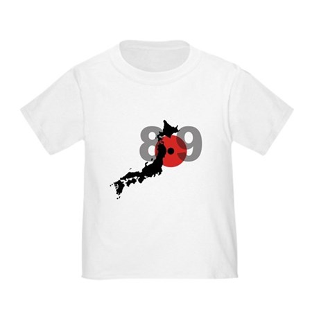 Japan Earthquake & Tsunami Toddler T-Shirt