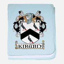 Kirwin Coat of Arms baby blanket