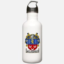 McLaughlin Coat of Arms Water Bottle