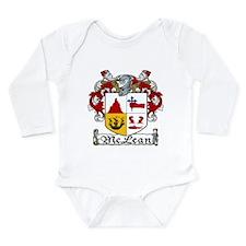 McLean Coat of Arms Long Sleeve Infant Bodysuit