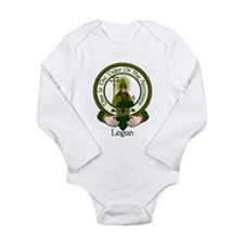 Logan Clan Motto Long Sleeve Infant Bodysuit