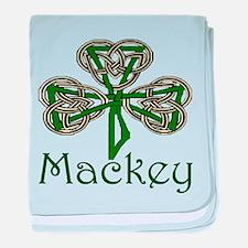 Mackey Shamrock baby blanket