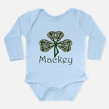 Mackey Shamrock Long Sleeve Infant Bodysuit