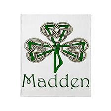 Madden Shamrock Throw Blanket