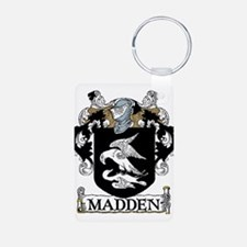 Madden Coat of Arms Aluminum Photo Keychain