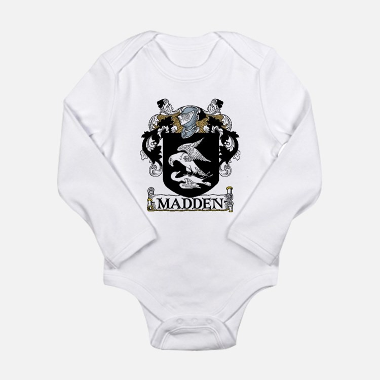 Madden Coat of Arms Long Sleeve Infant Bodysuit