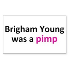 Brigham Young Decal
